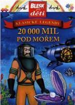 20 000 mil pod mořem DVD