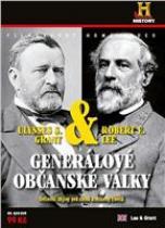 Generálové občanské války: R.E. Lee & U.S. Grant DVD