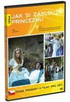 Jak si zasloužit princeznu DVD