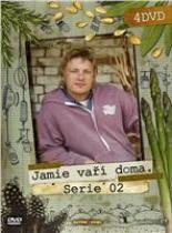 Jamie Oliver - Jamie vaří doma 4. série (4 DVD) DVD