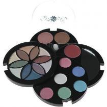 Makeup Trading Fashion Flower Compact 0,6g Lipgloss + 2,08g Blusher + 12,42g Eye Shadow