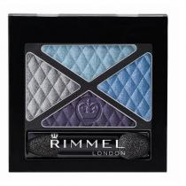 Rimmel London Glam Eyes Quad Eye Shadow 4,2g 002 Smoke Brun