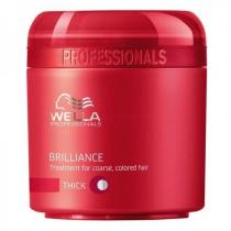 Wella Brilliance Mask Thick Hair 500ml