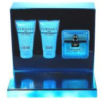 Versace Man Eau Fraiche EdT M - Edt 50ml + 50ml sprchový gel + 50ml šampón