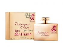 John Galliano Parlez-Moi d´Amour Gold Edition EdT 80ml W