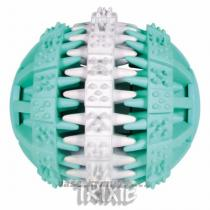 Trixie DENTAfun míč zeleno-bílý 7,5cm