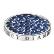 Hot Diamonds Azure Sparkle Coin