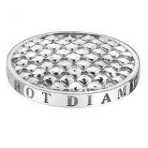 Hot Diamonds Silver Sparkle Coin