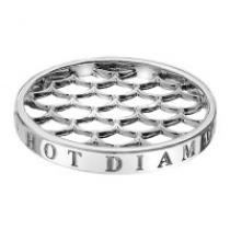 Hot Diamonds Silver Weaver Coin