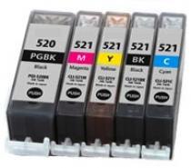 Coink kompatibilní s Canon 5ks CLI-521 / PGI-520 Multipack