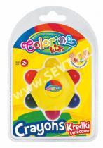 Colorino STAR 6 barev - voskovky