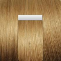 ÚžasnéVlasy.cz Tmavé blond - Tape-in REMY proužky, 50 cm (027), 20 ks