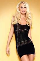 Obsessive D307 black Šaty