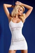 Obsessive D307 white Šaty