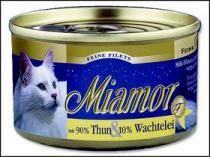 Miamor Filet konzerva tuňák + křepelčí vejce 100g