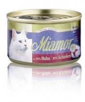 Miamor Filet konzerva kuře + šunka 100g