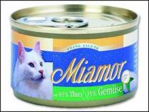 Miamor Filet konzerva tuňák + zelenina 100g