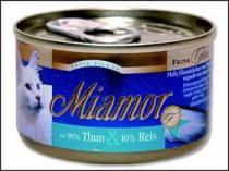 Miamor Filet konzerva tuňák + rýže 100g