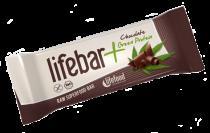 lifefood Lifebar čokoláda a konopný protein