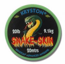 KRYSTON Snake Skin 20lb 20m
