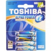 TOSHIBA BAT ALPHA POWER LR03 4BP AAA