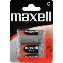 MAXELL R14 2BP Zinc 2x C