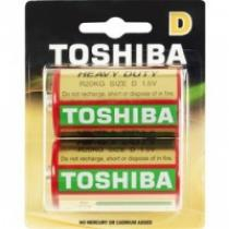 TOSHIBA BAT HEAVY DUTY R20 2BP D