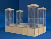 SORYX Prosklený prodejní stánek KI-FORT