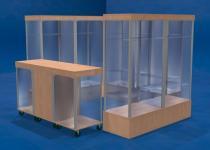 SORYX Prosklený prodejní stánek KI-HEEL