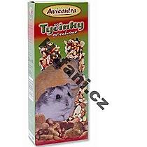 Avicentra Tyčinka malý hlodavec ořechová 2ks