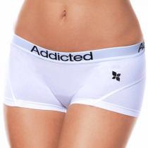 Addicted - Bílá - Dámské Kalhotky