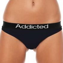 Addicted - Černá - Dámské Tanga