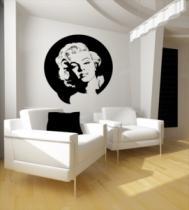 Samolepky na zeď - Marilyn Monroe