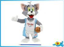 OEM Tom plyšový 30cm s basketbalovým míčem