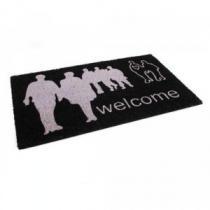 "VETRO-PLUS kokosová 43x73 cm People ''Welcome"""