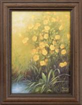 HAMA Reprodukce Květiny 2, 13x18 cm