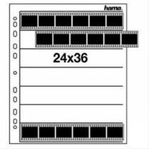 HAMA Obal na negativ, 24x36 mm, PP čirý, 25 ks