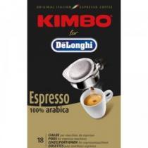 DeLonghi Kimbo 100% Arabica - 18 ks kávových podů
