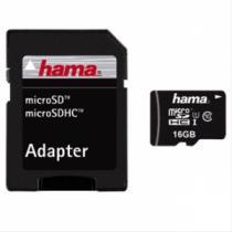 HAMA MicroSDHC 16GB Class 10 UHS-I
