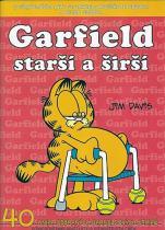 Jim Davis: Garfield Starší a širší (č.40)