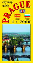 Jiří Beneš: City map - guide PRAGUE 1:7 000
