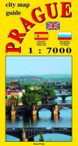 Jiří Beneš: City map - guide PRAGUE 1:7 000