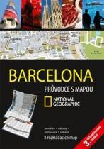 Barcelona - Průvodce s mapou National Geographic