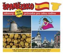 Španělsko - Zábavný průvodce pro celou rodinu - 2CD+DVD - kolektiv