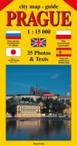 Jiří Beneš: City map - guide PRAGUE 1:15 000