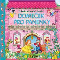 Domeček pro panenky - Pohádkové otočné divadlo leporelo
