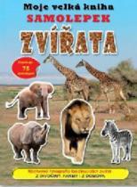 Moje velká kniha samolepek: Zvířata
