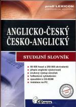 Anglicko-český,česko-anglický studijní slovník - CD-ROM