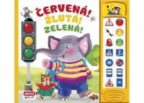 Mluvicí knížka s dopravní tematikou: Červená! Žlutá! Zelená!