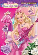 Mattel: Barbie - Princezna a zpěvačka - čtení se samolepkami